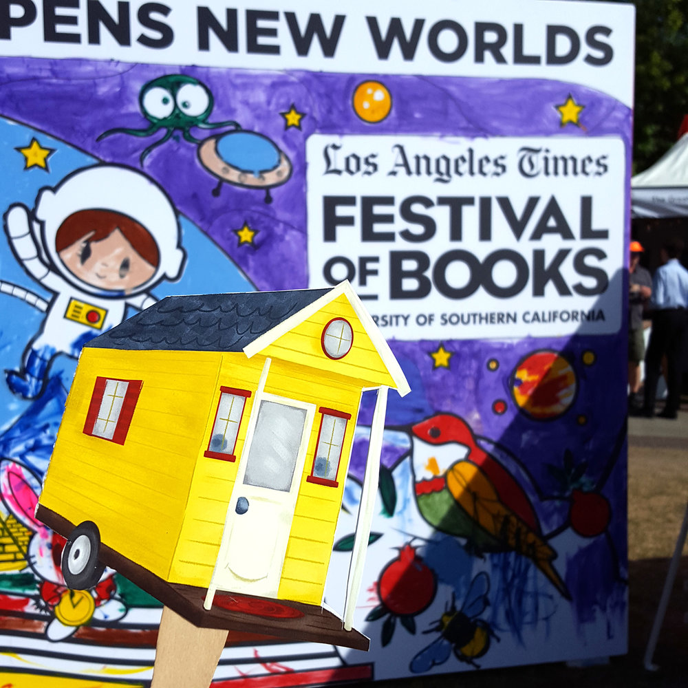 Tiny House at LA Times Festival of Books