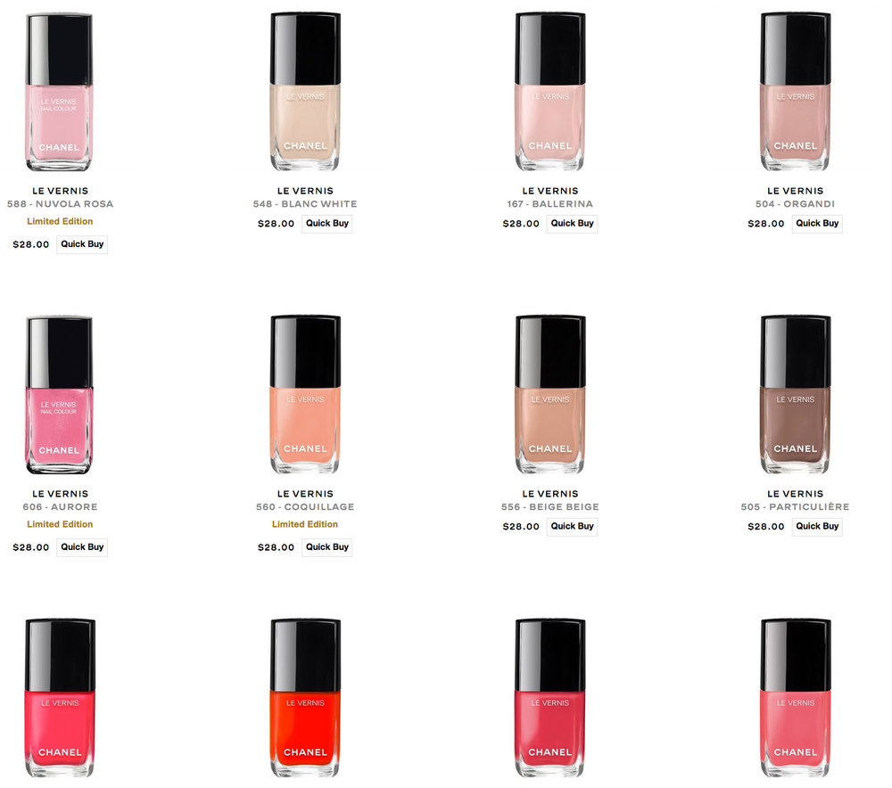 LE VERNISLongwear Nail Colour, $28 - Photo: Courtesy of Chanel