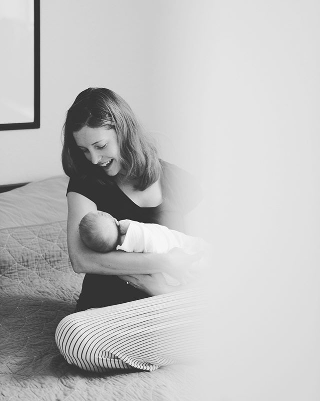 Those first perfect days with a newborn. It's probably the lack of sleep and sudden shock to your world as you knew it, but aren't they the most special days ever?