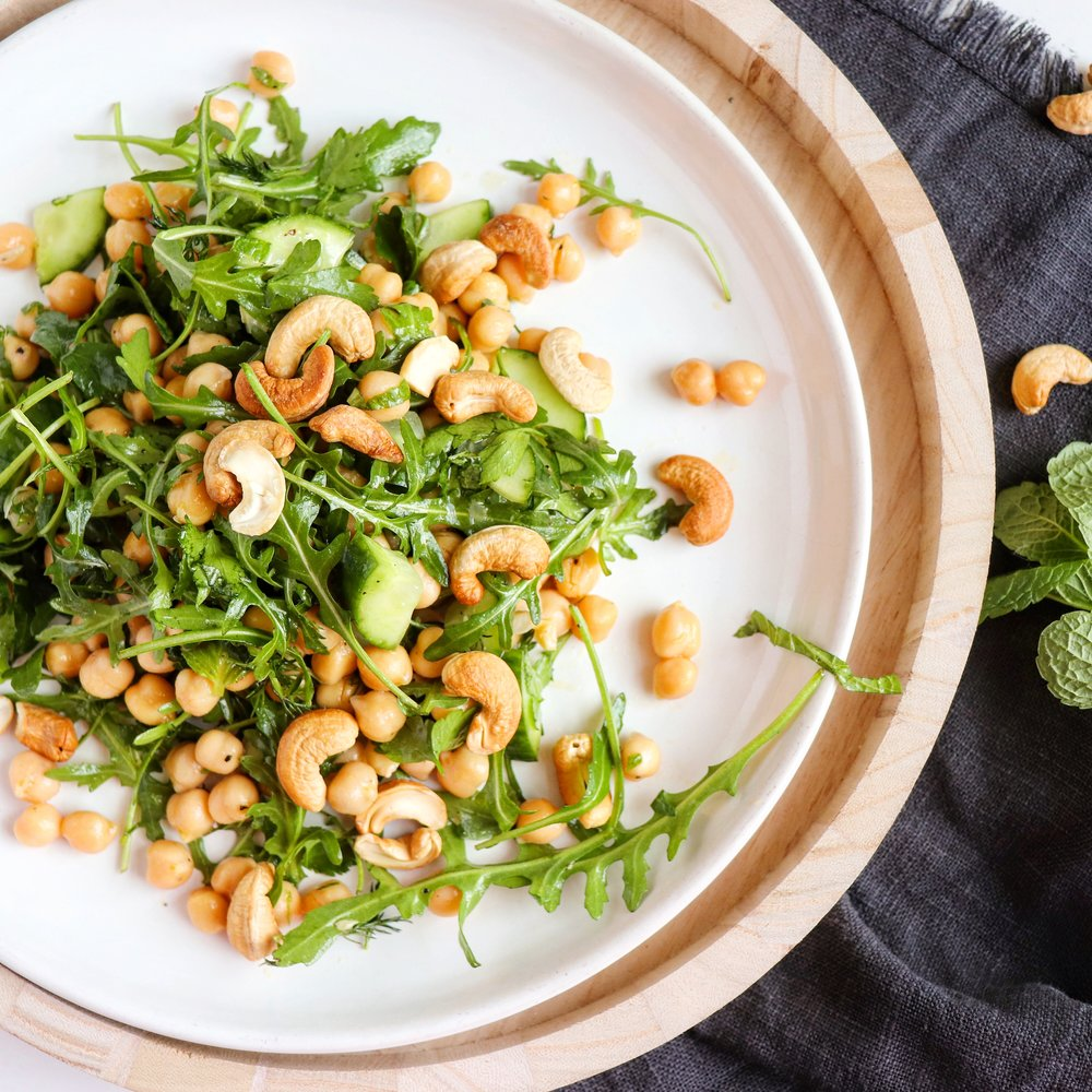 Chickpea salad flatlay.JPG