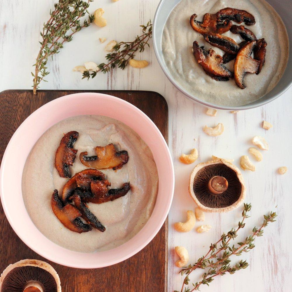 Creamy mushroom soup.JPG