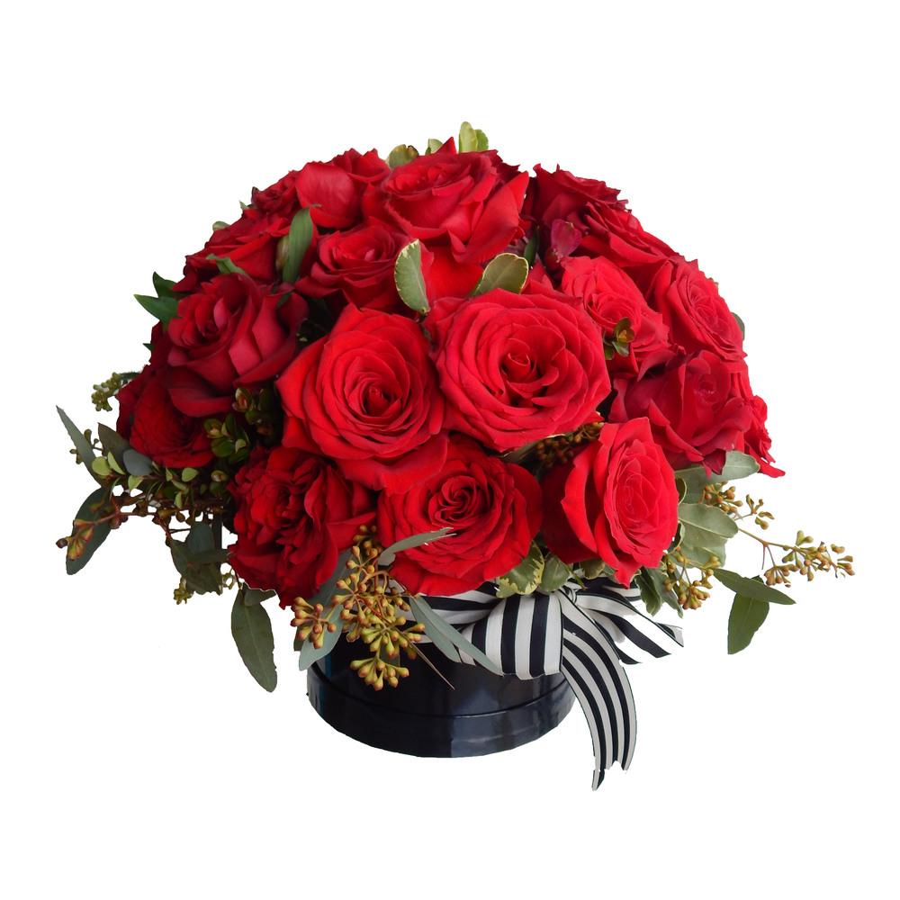 A)   two dozen roses $150