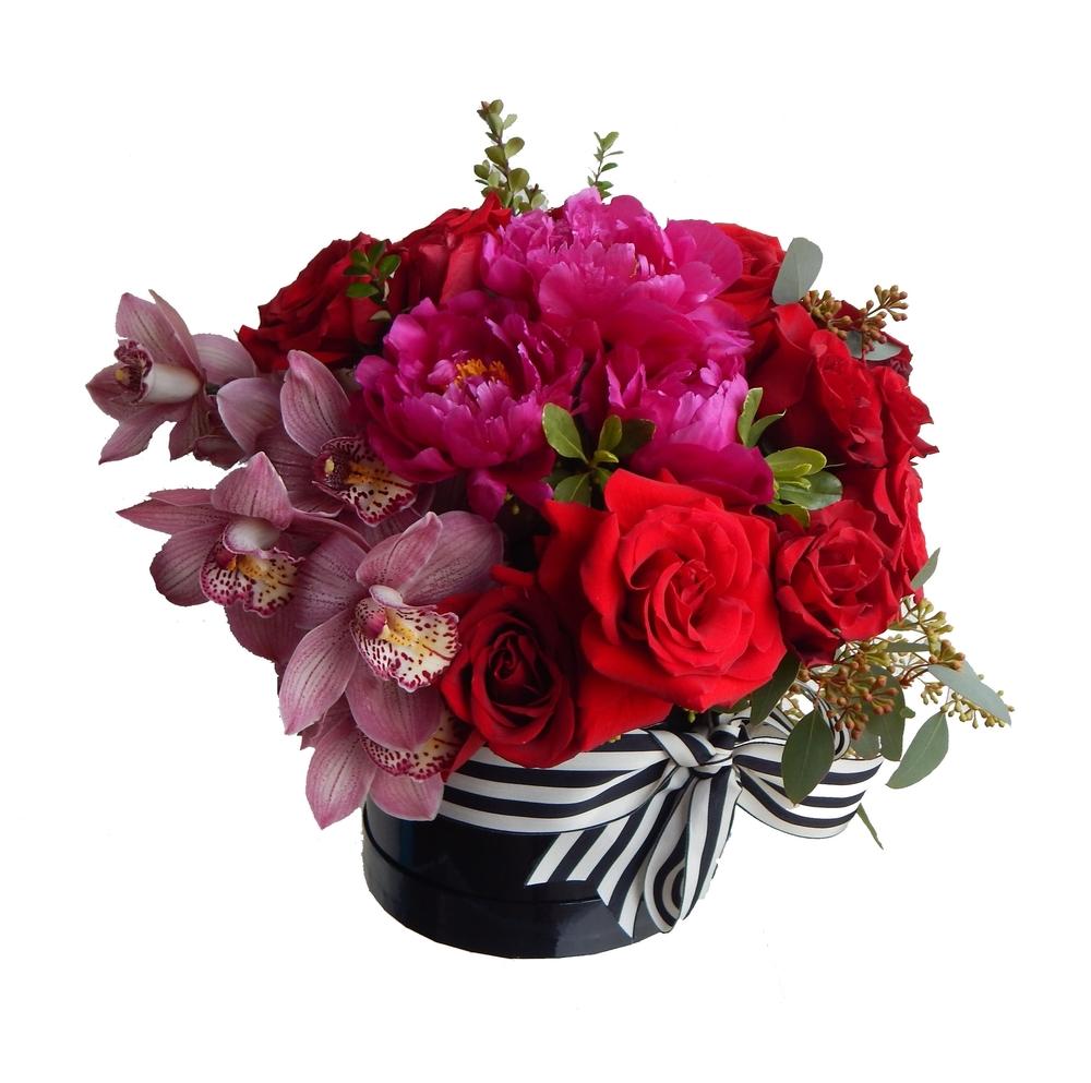 C)   valentine blossoms $150