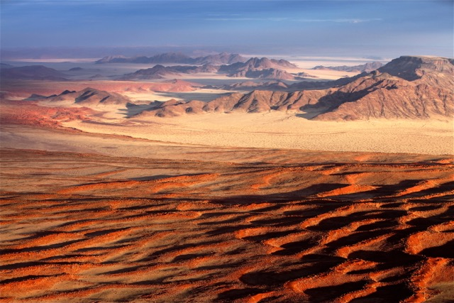 """Kalahari Desert Dawn"" Namibia, Africa"