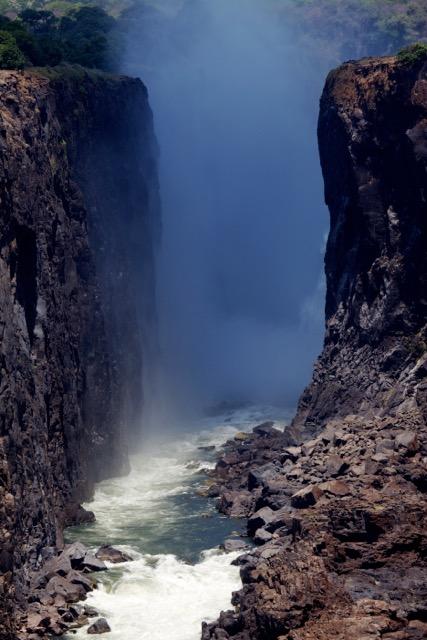 """""""Kalolo Lozi, Smoke that Thunders"""" Zambezi River, Africa"""