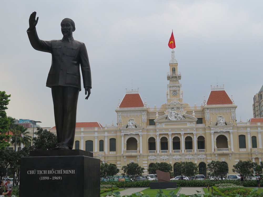 Ho Chi Minh Keeps Watch over His City