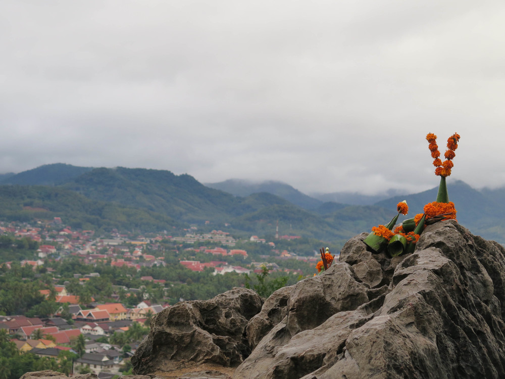 View from the Top of Mount Phousi, Luang Prabang