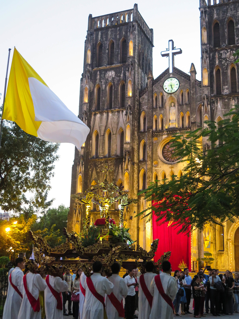 Hanoi's St. Joseph's Cathedral: A Landmark French Legacy