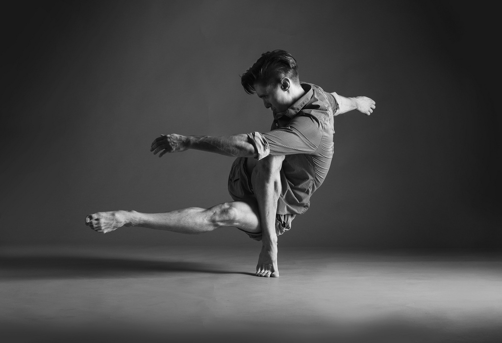 Dance xplosion for Modern black and white photography