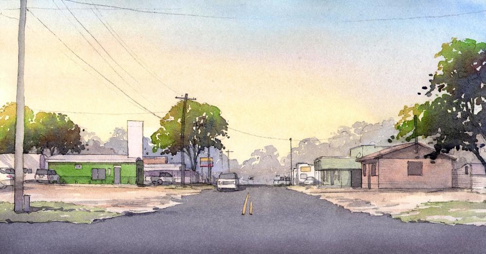 East Main Street - Existing