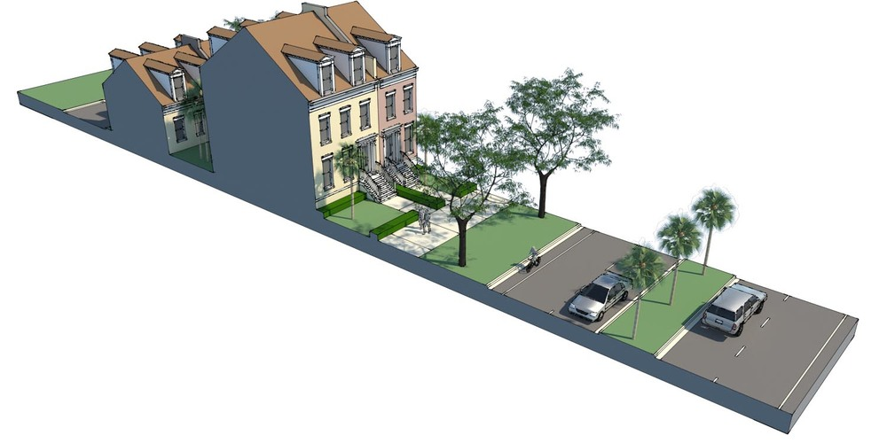 proposed residential frontage