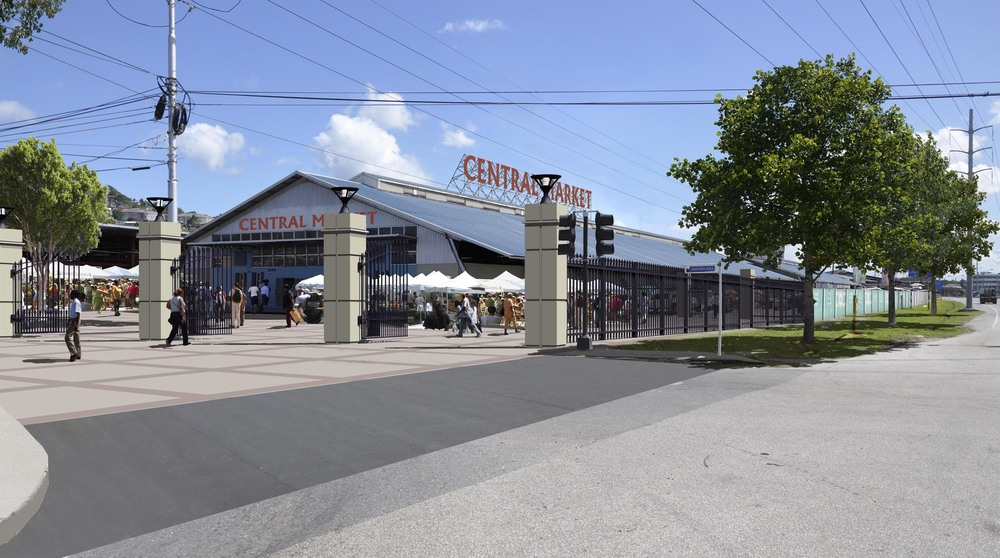Central Market proposed
