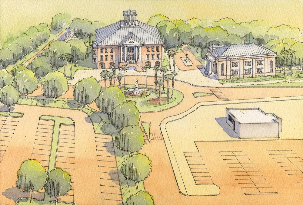A new civic gateway to historic Beaufort
