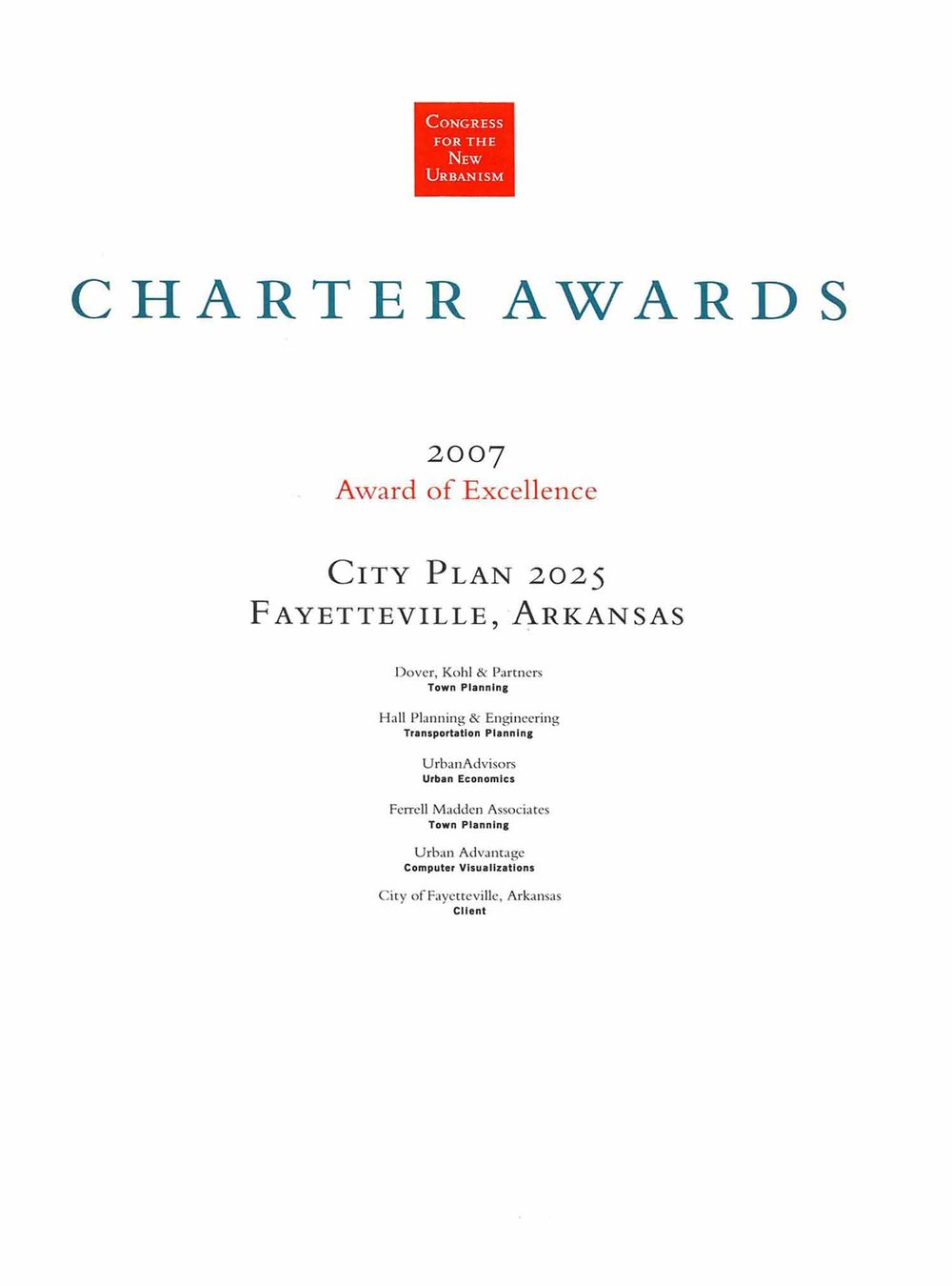 2007-Chapter Awars- of exellence-City PLan 2025- Fayetteville.jpg