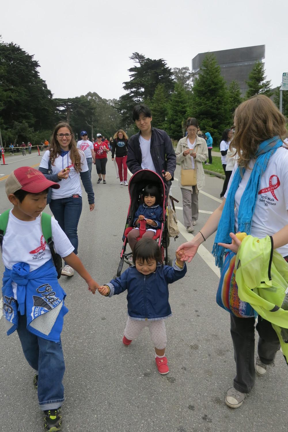 San Francisco AIDS Walk 2013