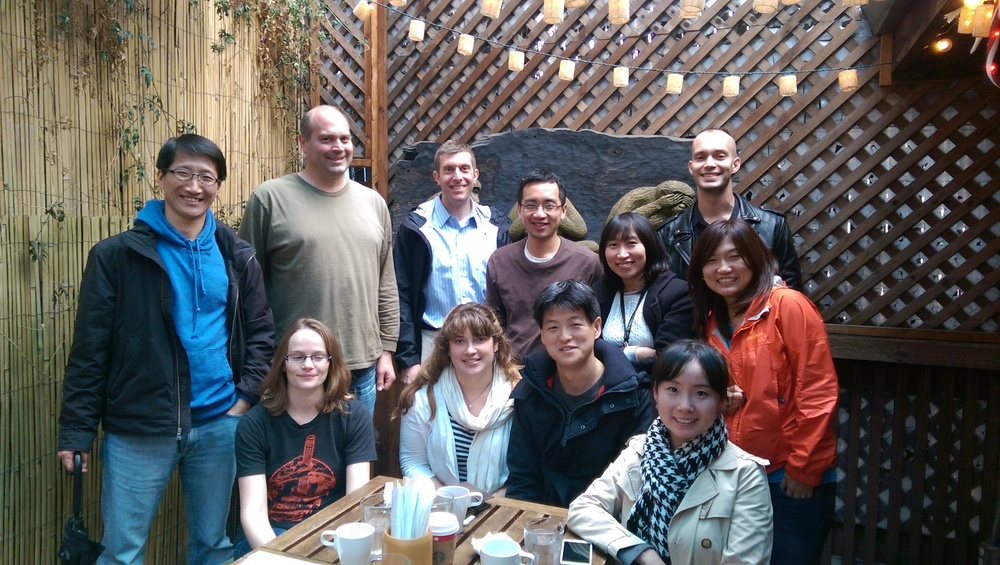 Yuya's Farewell Lunch - Summer 2014