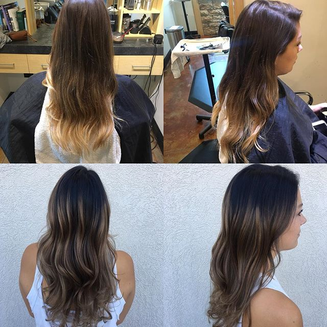 Let's obsess for a minute. Cool, fall, balayage done by @taylorrneacoleman #balayage #fall #fallhair #curls #brunette #beforeandafter #hair #hairstyles #beautiful #perfect #hairinspo #love #aveda #redken #joico