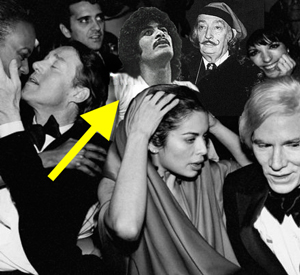 Rockin' my 70's look at Studio 54    (with a little help from Photoshop)