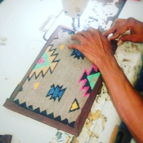 Hard at work! Some new colorful funky handbags coming soon. #rugs #carpets #textiles #mytinyatlas #peoplescreative #thatcolorproject #thehappynow #livecolorfully #foundandforaged #pattern #traveldeeper #dwell #sodomino #jungalowstyle #chicnationale #apartmenttherapy #pursuepretty #thatsdarling #livethelittlethings #morningslikethese #posttheordinary #fromwhereistand #ihavethisthingwithtextiles #handbagdesigner #indiestyle #shopsmall #travelbag #fernweh
