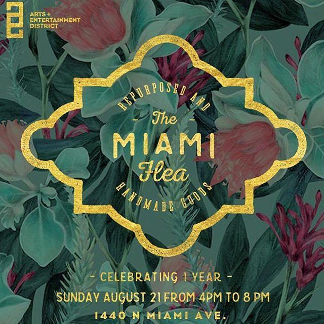 T minus 4 hours! #MiamiFlea #Miami #sundayfunday #ilovemiami
