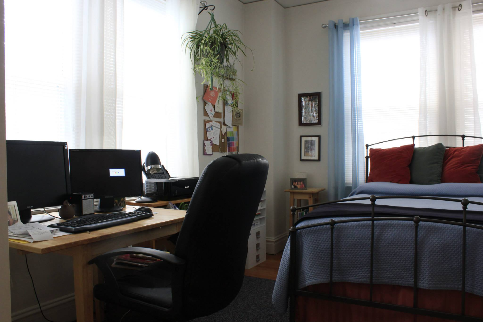 home office guest room combo. 1015616_686228630302_1215863802_o. Our Office/Guest Room Home Office Guest Combo O