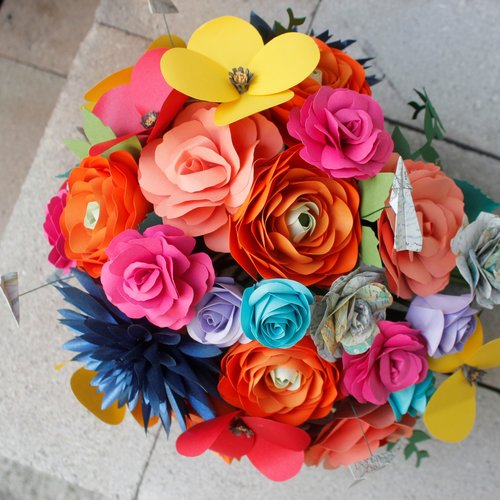 The paper florist katherine elizabeth events our paper flower story mightylinksfo