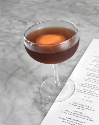 ASW Distillery - Atlanta craft whiskey & brandy distillery - Orange bourbon Manhattan
