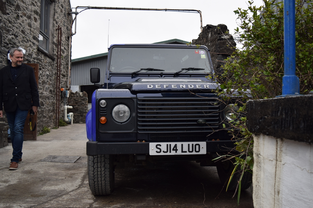 ASW Distillery - Atlanta craft whiskey & brandy distillery - Kilchoman Scotch Land Rover on Islay Scotland