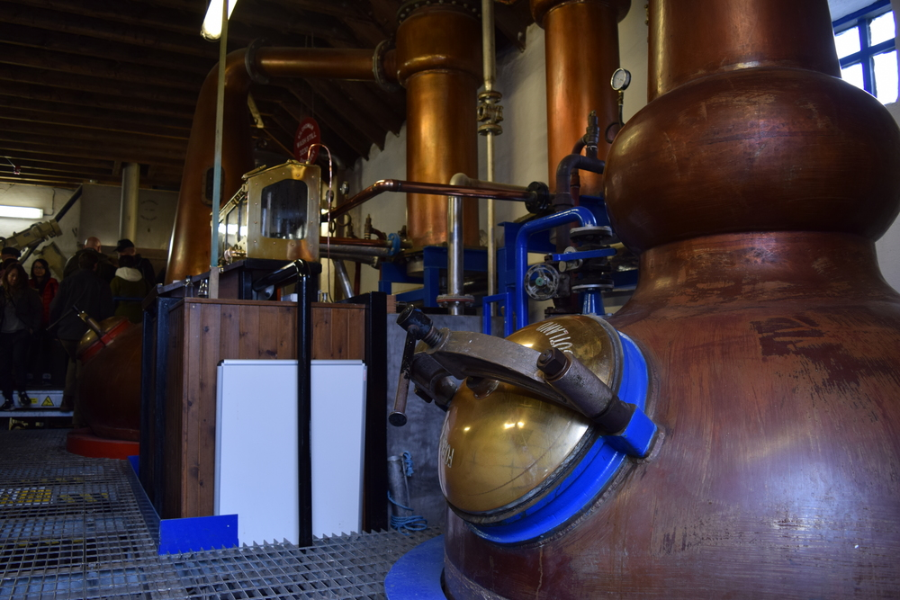 ASW Distillery - Atlanta craft whiskey & brandy distillery - Kilchoman Scotch distillery Islay Scotland stills