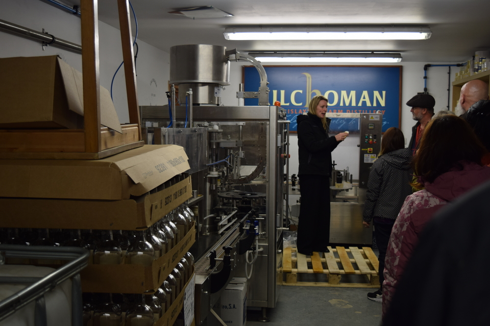 ASW Distillery - Atlanta craft whiskey & brandy distillery - Kilchoman Scotch distillery Islay Scotland bottling line Buffalo Trace casks