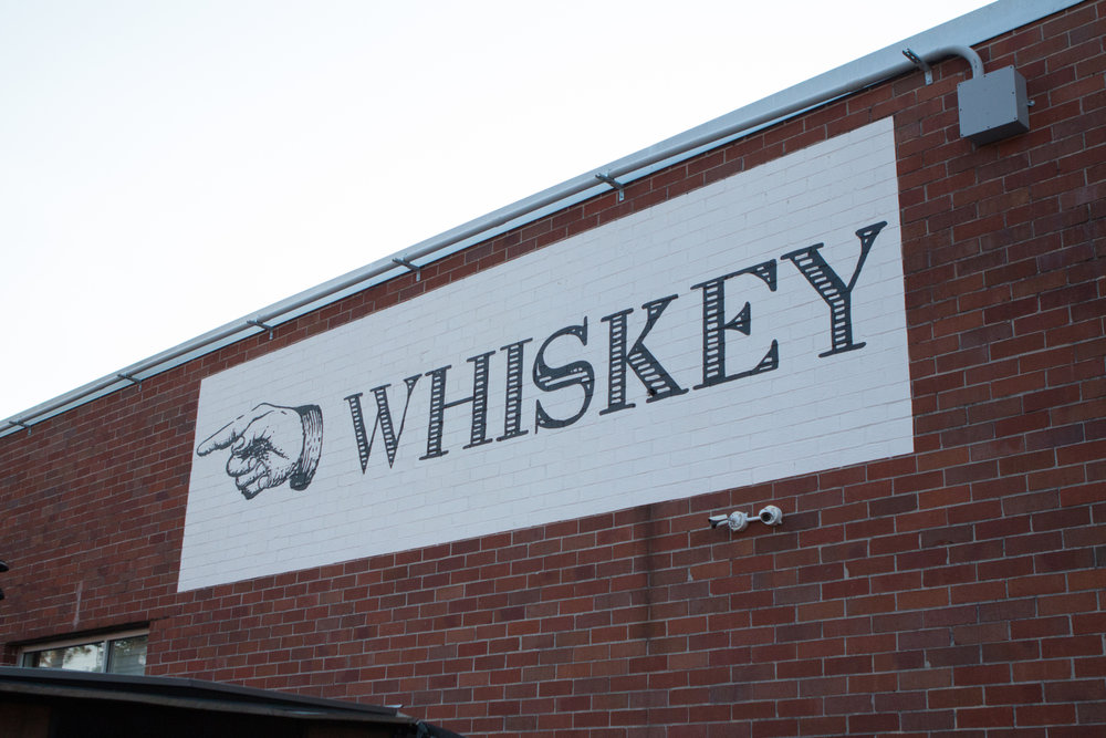 The Whiskey Mural