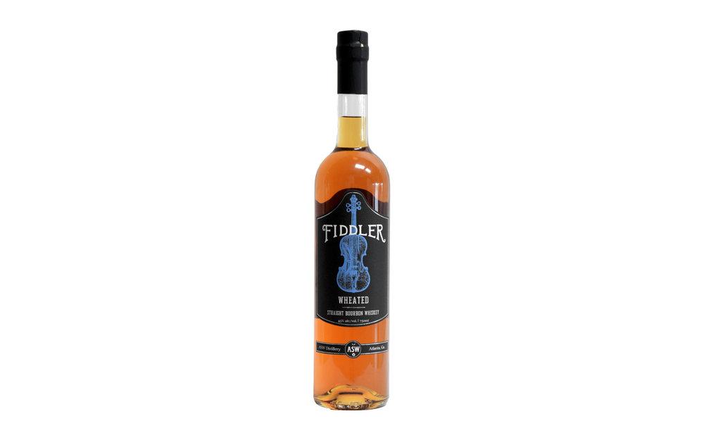 ASW Distillery - Atlanta's hometown craft bourbon whiskey distillery - Fiddler wheated bourbon