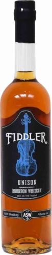 ASW Distillery - Atlanta's Hometown Craft Bourbon Whiskey Distillery - Fiddler Unison Bottle white background high res.jpg