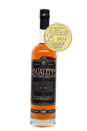 Double Gold - San Francisco World Spirits Competition, 2018