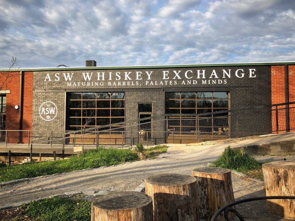 The Entrance to the ASW Whiskey Exchange