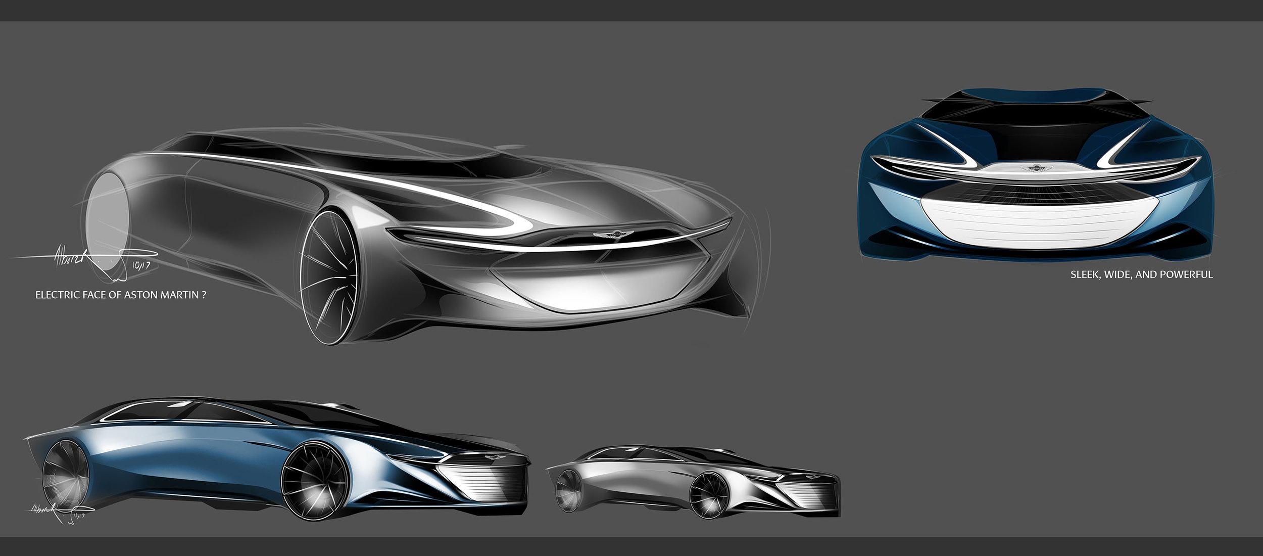 Aston Martin Lagonda Alborz Rahimian