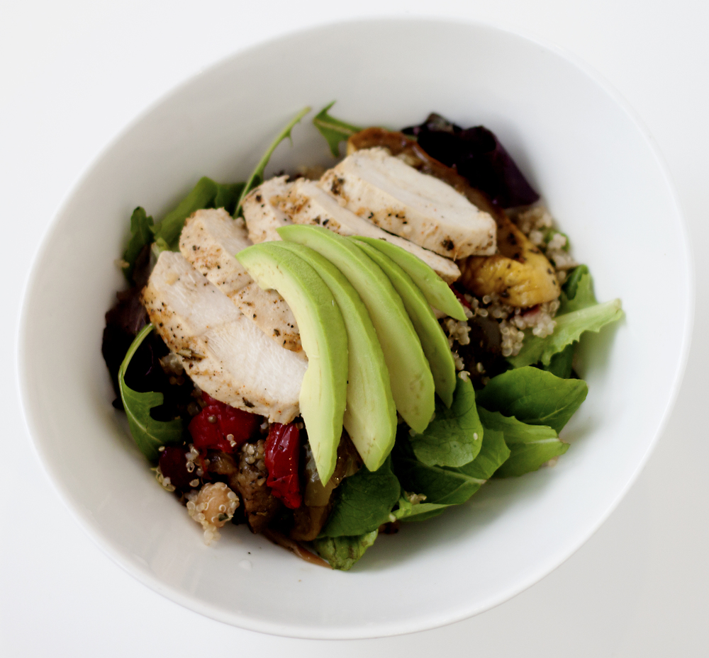 Charred Chicken Salad
