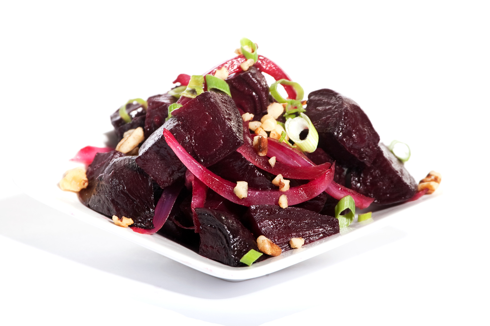 Roasted Ruby Beet Salad