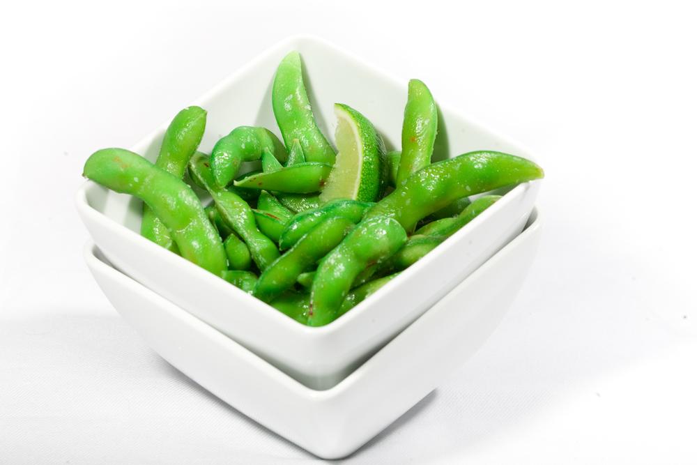 Warm Edamame Beans