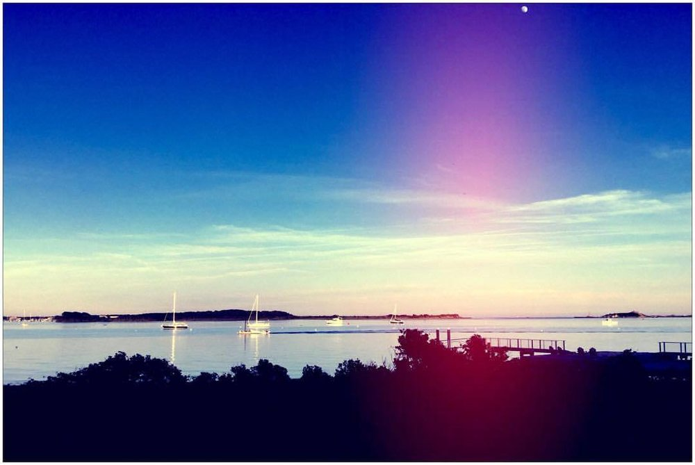 Rather excited to have this view this summer #boathouse #westport #endolane