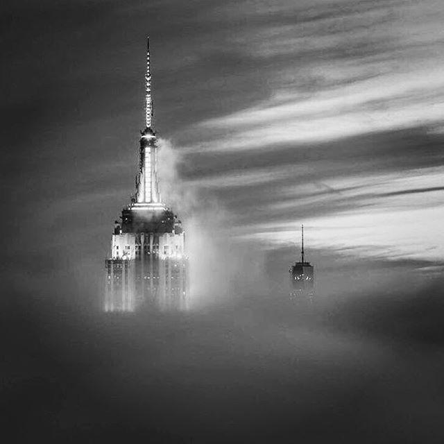 The fog of war #nyc #paintedbylight #blackandwhite #monochrome