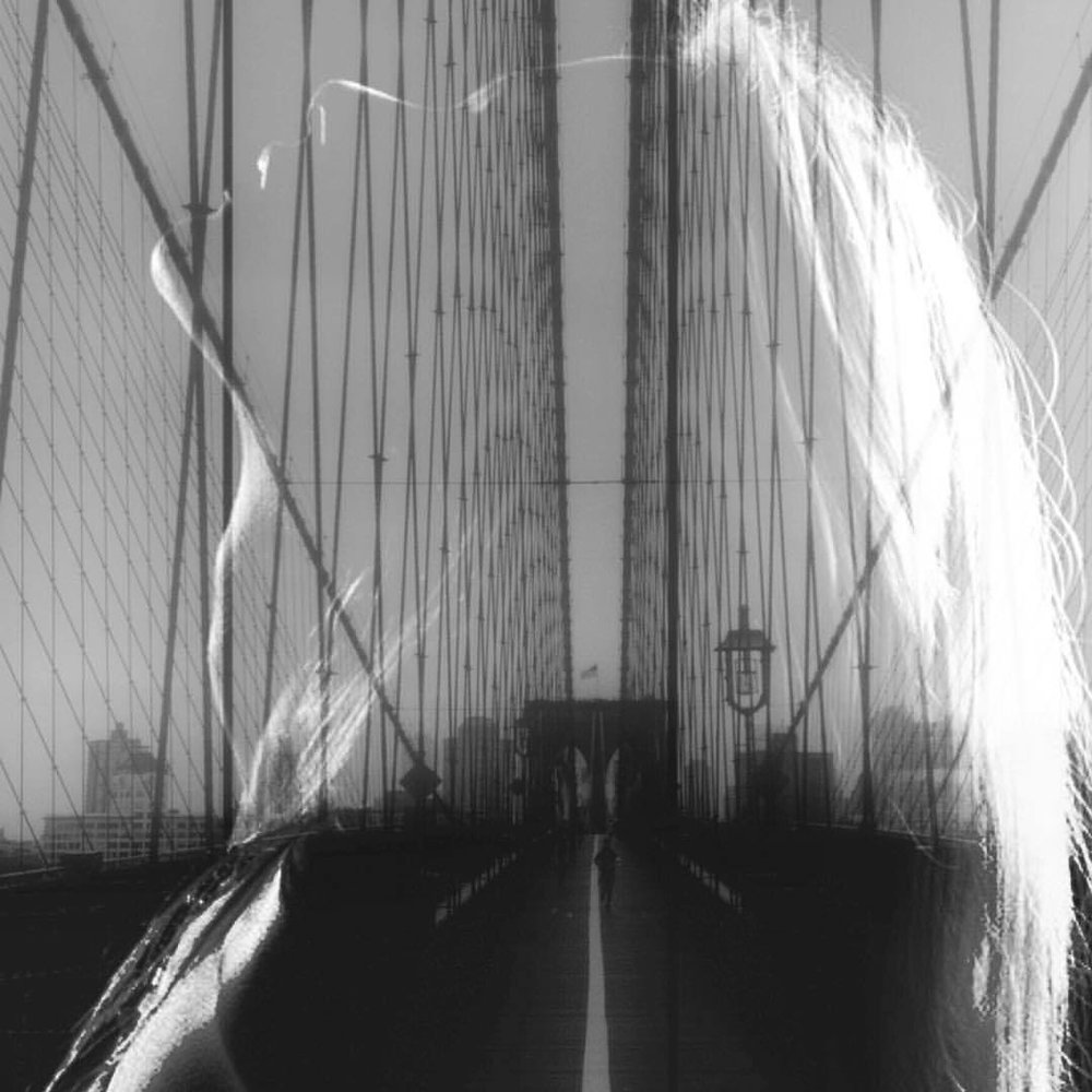 Get me across that damn bridge. #blackandwhite #paintedbylight #werk