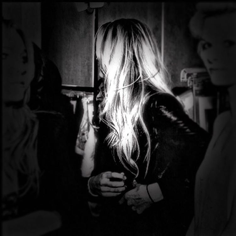 "When someone says ""lydia!"" I apparently generally respond as such. #blackandwhite #blonde #paintedbylight"