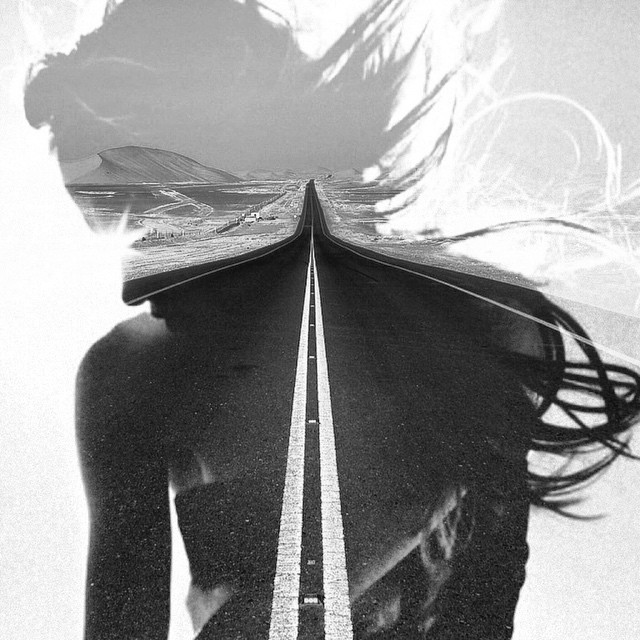Highways and byways #tbt #paintedbylight #blackandwhite  http://ift.tt/1zRzqc9