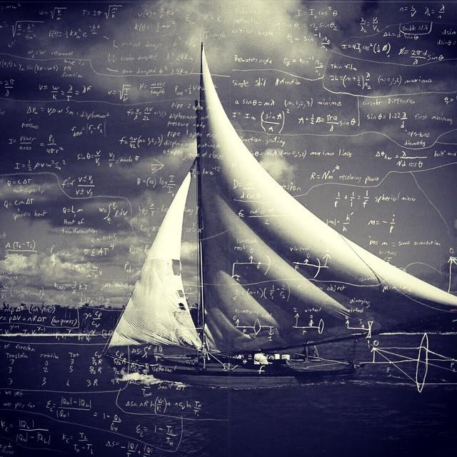 #countdown #across #blackandwhite #blackandboats  equations on this clear morning.  http://ift.tt/1BF1sHN