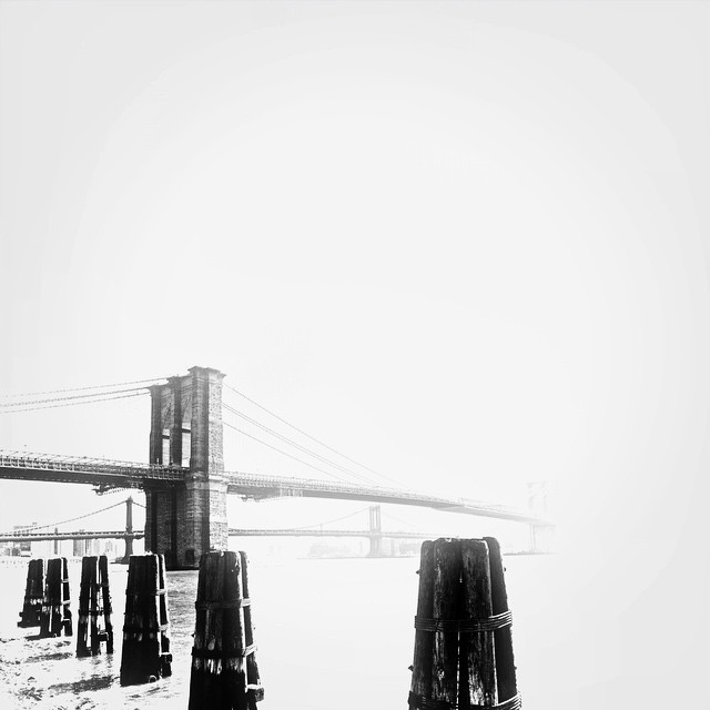Haze for days 2. Photo by @travisr401, edit by me. #nyc #blackandwhite #paintedbylight #brooklyn  http://ift.tt/1whsQeX