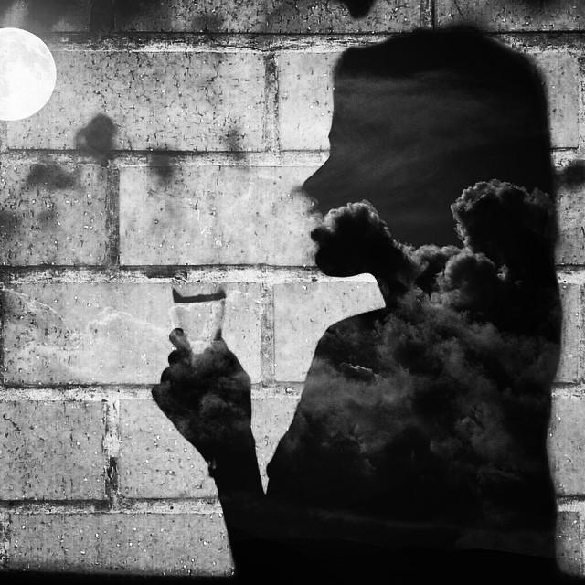 Goodnight #blackandwhite #tripleexposure #noir #monochrome  http://ift.tt/1CkZ4JD