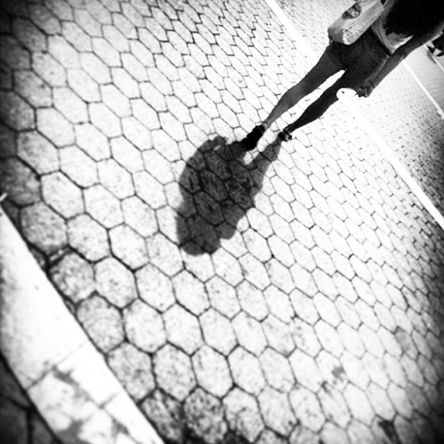 Follow me… Happy spring;)! #blackandwhite #nyc #unionsquare #monochrome