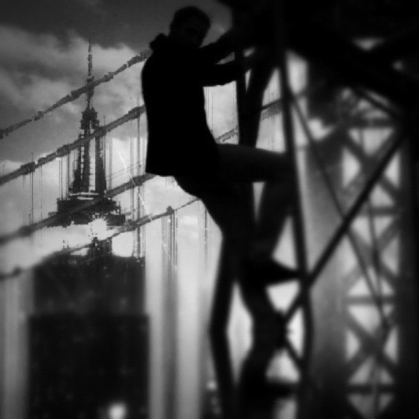 Man on the run #nyc