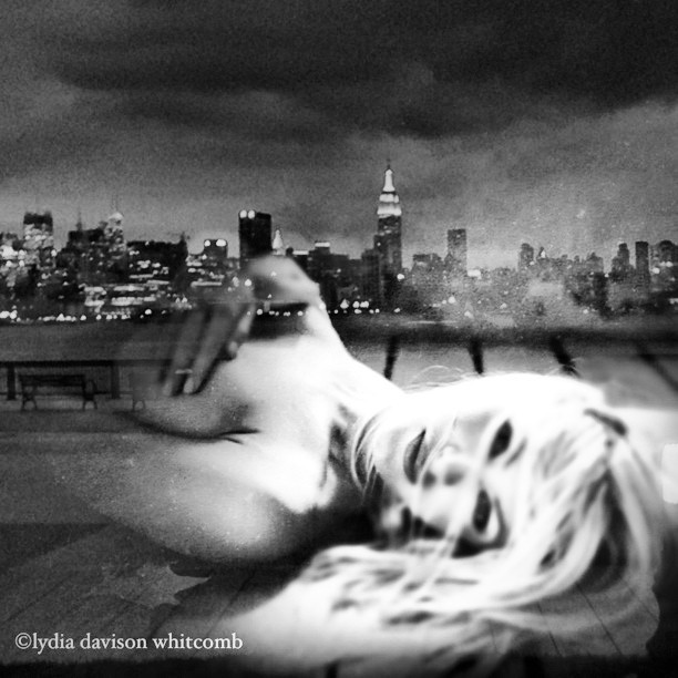#nyc, within hands reach from #hoboken nj #noirvue #paintedbylight #monochrome #blackandwhite @bradleyacutler